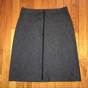 Bisou Bisou Women's Size 6 Black Skirt